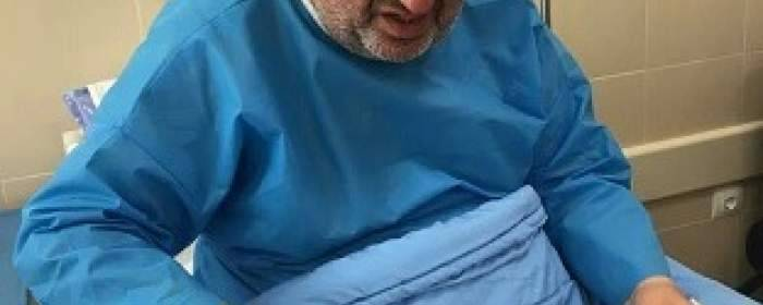 سردار شجاع کهگیلویه و بویراحمد در بستر بیماری / عیادت استاندار از سردار «عظیمیفر» (+ عکس و فیلم)