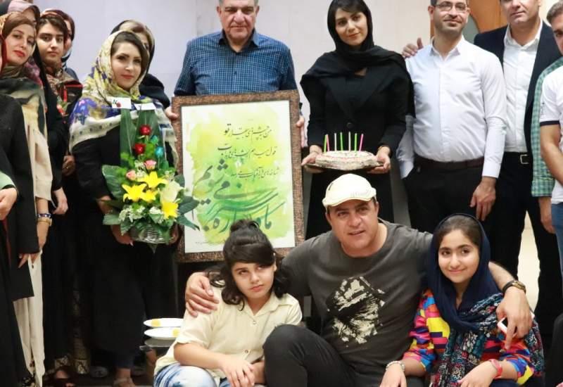 تجلیل فعالان زیست محیطی از دکتر سید محمد رادمنش/دغدغه های زیست محیطی پزشک مشهور کشوری