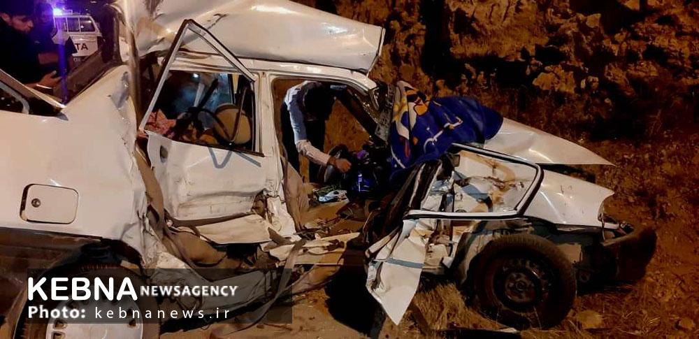 مرگ وحشتناک یک خانواده استان فارسی بر اثر تصادف خونین در یاسوج