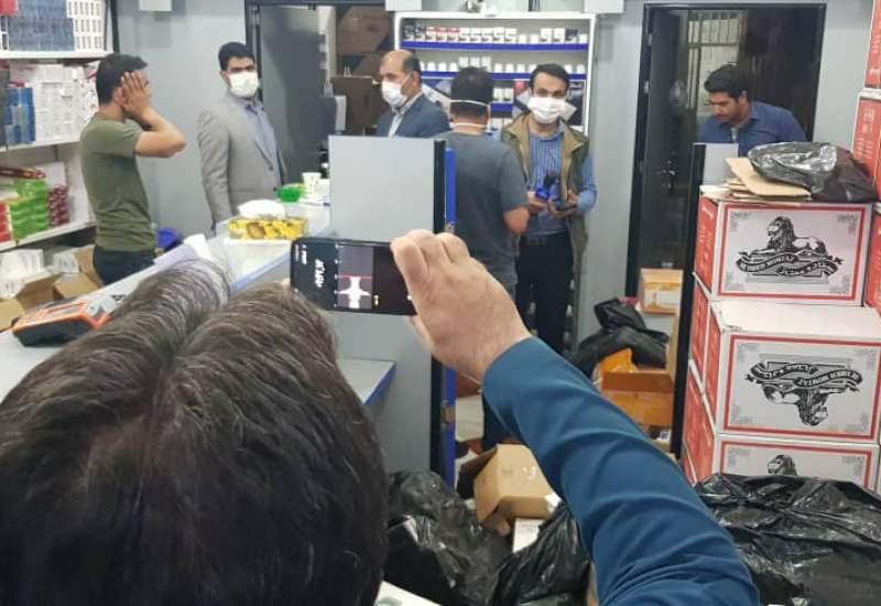 کشف محموله بزرگ سیگار قاچاق در بازار مرکز استان کهگیلویه و بویراحمد