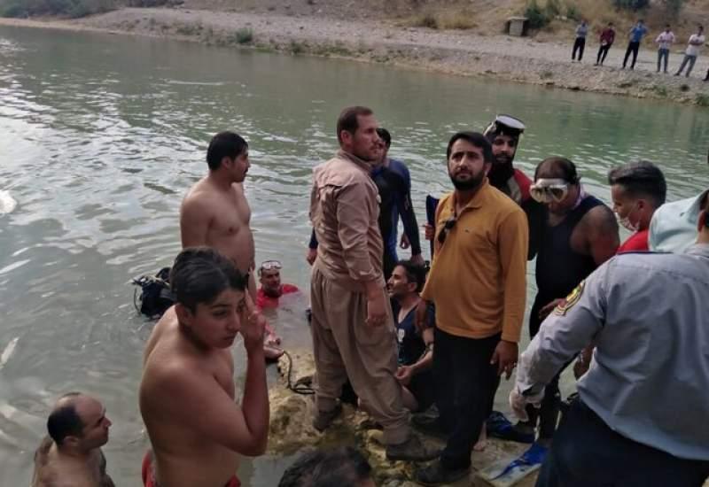 جسد جوان ۲۵ ساله در رود بشار یاسوج پیدا شد ( + تصاویر )