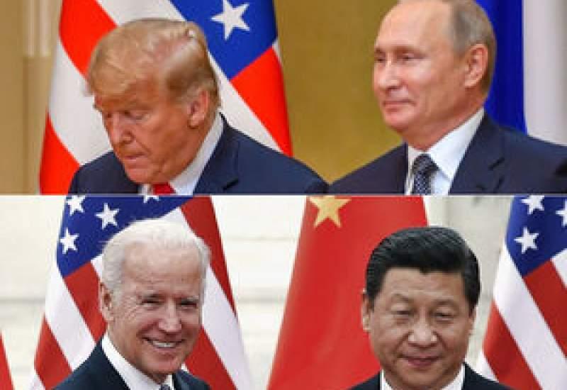 چرا پوتین میخواهد ترامپ رئیسجمهور بماند؟ / دلایل تمایل چین به پیروزی بایدن چیست؟ + عکس و فیلم