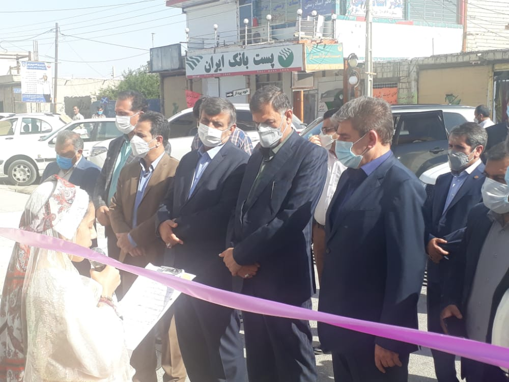 افتتاح و کلنگزنی ۲۱۰ میلیارد ریال پروژه در شهرستان باشت