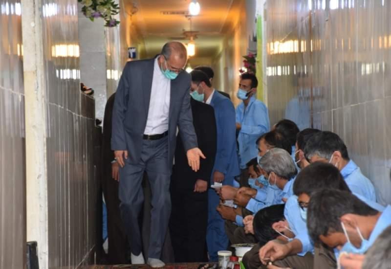 بازدید رئیس کل دادگستری استان کهگیلویه و بویراحمد از زندان مرکزی یاسوج + تصاویر